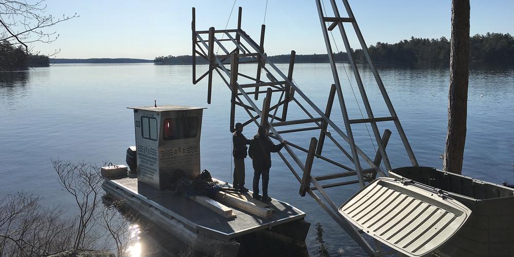 WIS - NH Dock Installation | Moorings | New Docks & Moorings